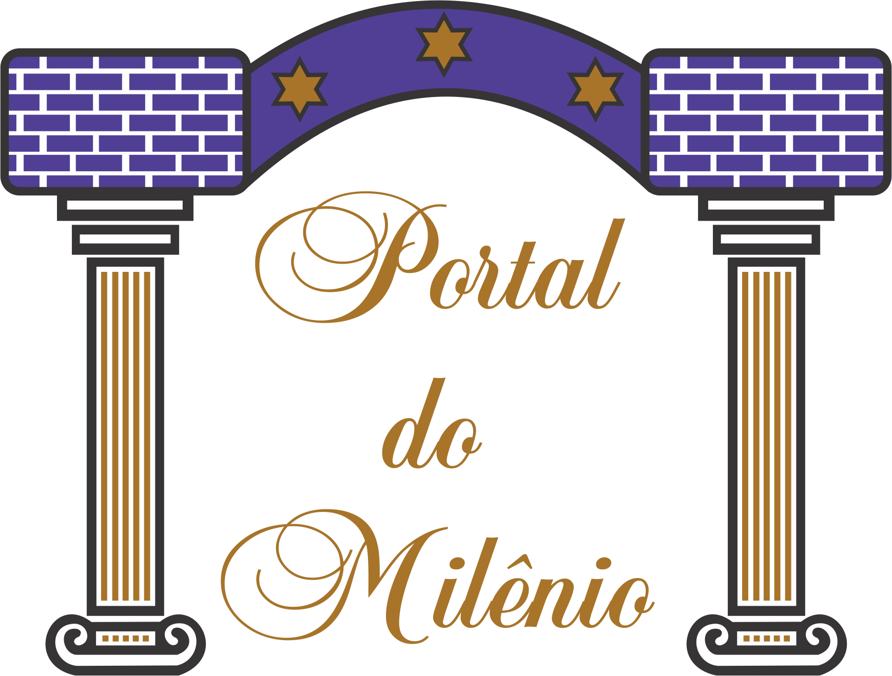 Logotipo Portal do Milênio